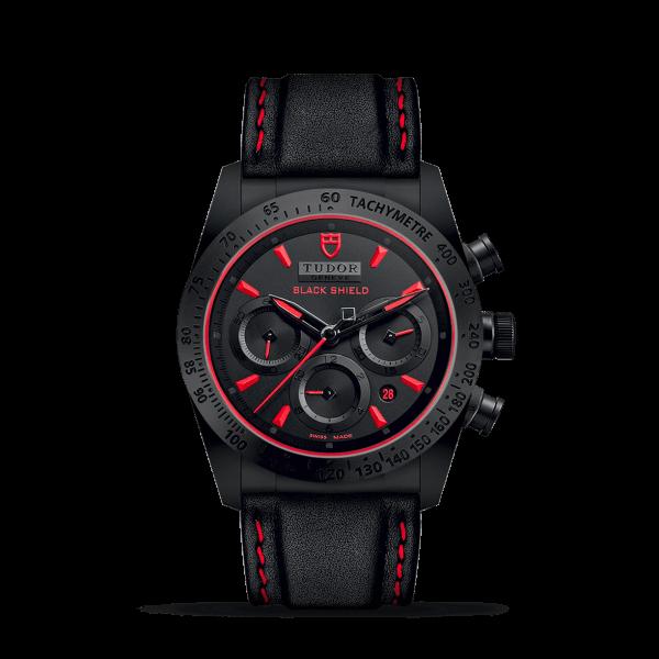 Tudor Fastrider Black Shield Red Watch