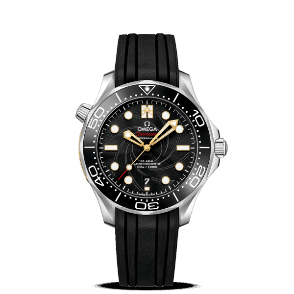 Omega Seamaster Diver 300M Co-Axial Master Chronometer James Bond Watch