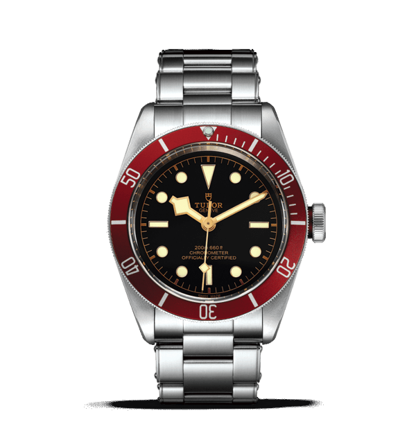 Tudor Black Bay Burgundy Watch