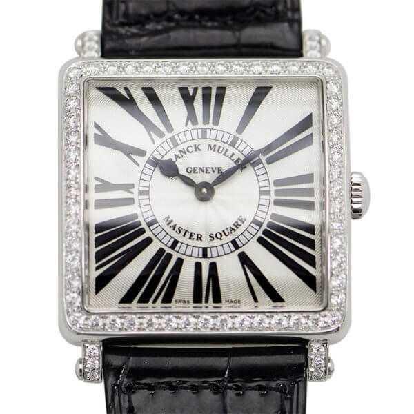 Franck Muller Master Square Quartz Diamond Watch