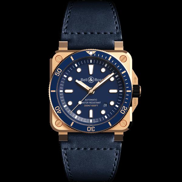 Bell & Ross BR 03-92 Diver Bronze Blue Watch