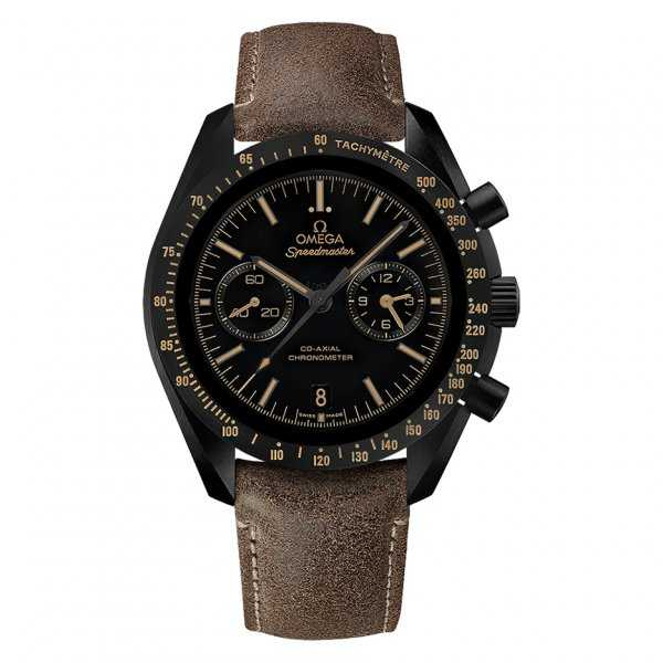 Omega Speedmaster Moonwatch Chronograph Dark Side of the Moon Vintage Black Watch