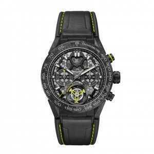 TAG Heuer Carrera Calibre Heuer 02T Nanograph Limited Watch
