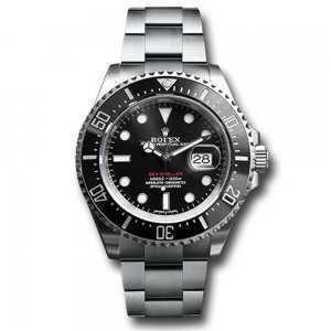 Rolex Sea-Dweller 43mm Steel Black Dial Watch