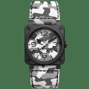 Bell & Ross BR 03-92 White Camo Watch