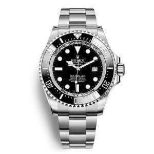 Rolex Sea-Dweller Deepsea Black Dial Watch