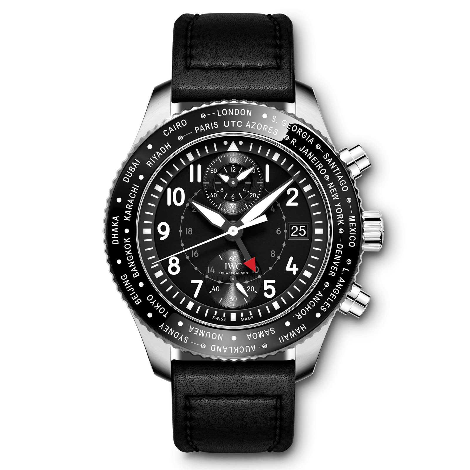 IWC Pilot's Watch Timezoner Chronograph Watch