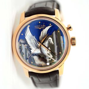 Vulcain Cloisonne The Pegasus Alarm Limited Edition Watch