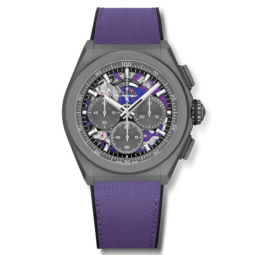 Zenith Defy El Primero 21 Chronograph Ultraviolet Watch