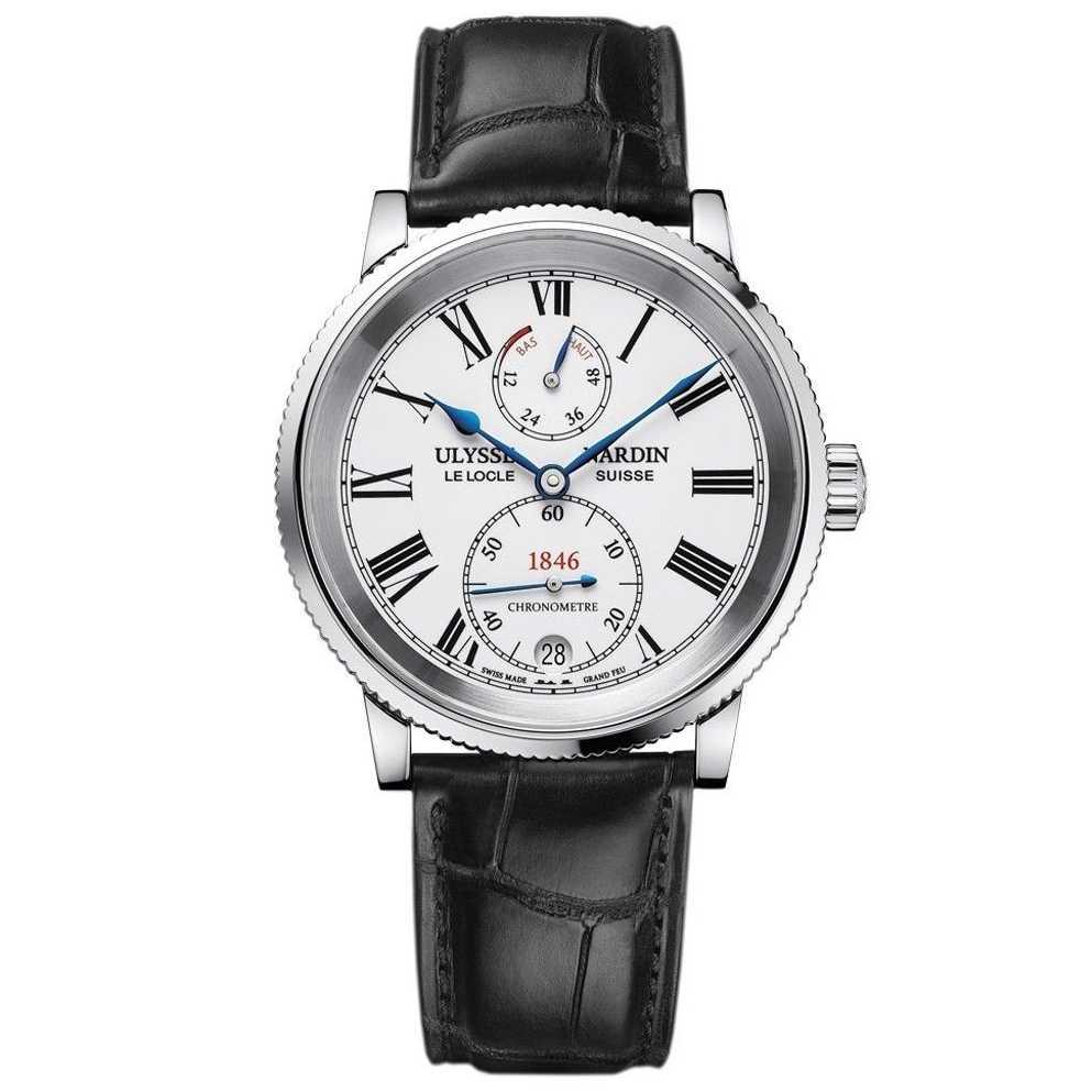 Ulysse Nardin Marine Chronometer 41mm White Dial Watch