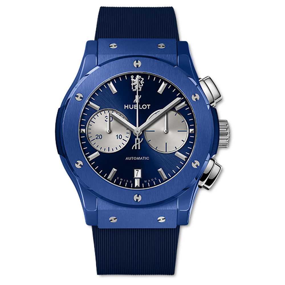 Hublot Classic Fusion Chronograph Chelsea FC Blue Ceramic Watch