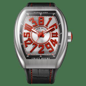 Franck Muller Vanguard Crazy Hours Red Watch