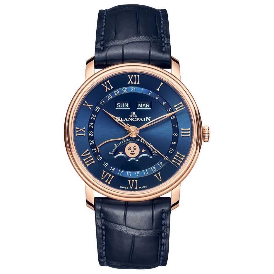 Blancpain Villeret Moonphase & Complete Calendar 40mm Watch