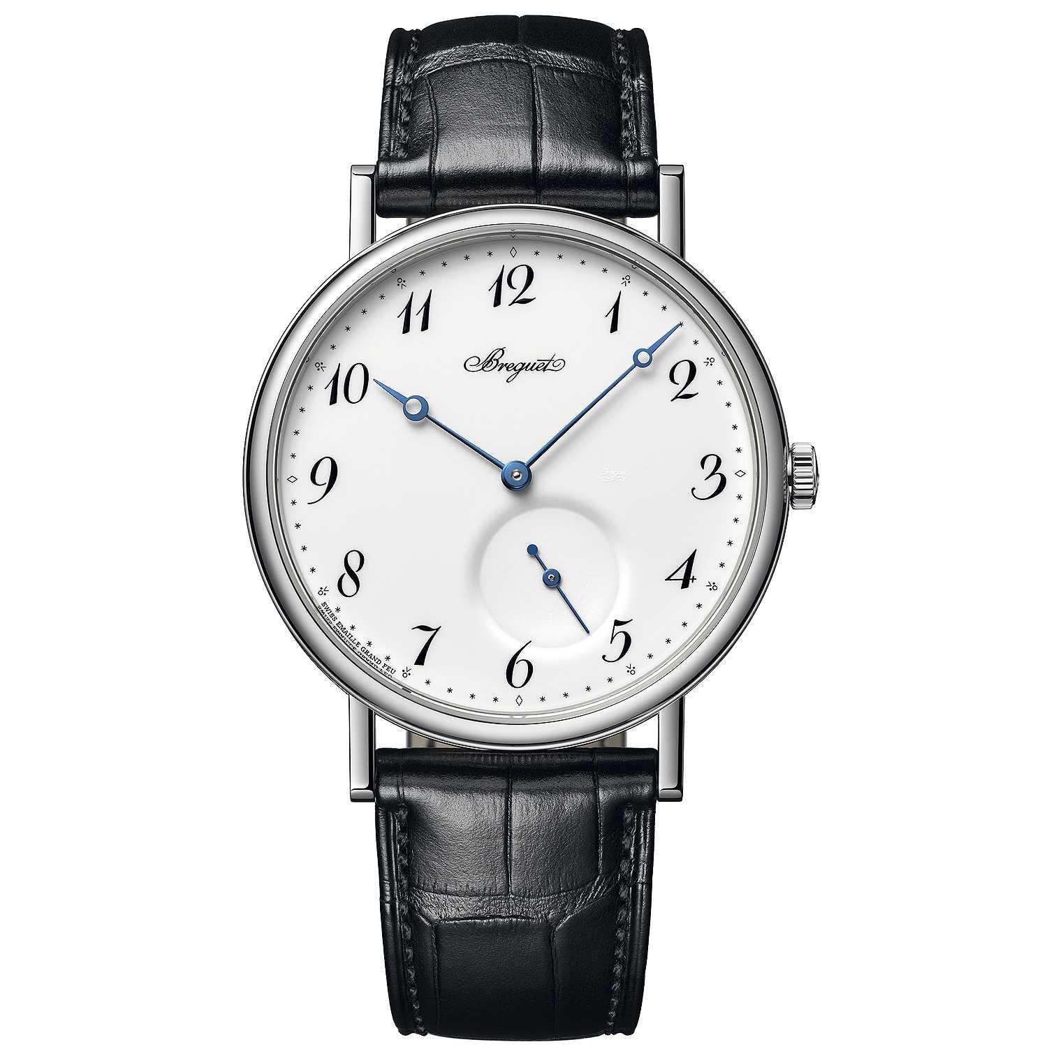 Breguet Classique Automatic Grand Feu Dial Watch