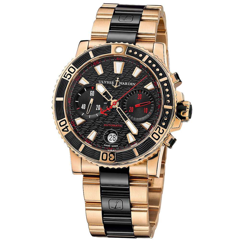 Ulysse Nardin Maxi Marine Diver Chronograph Watch
