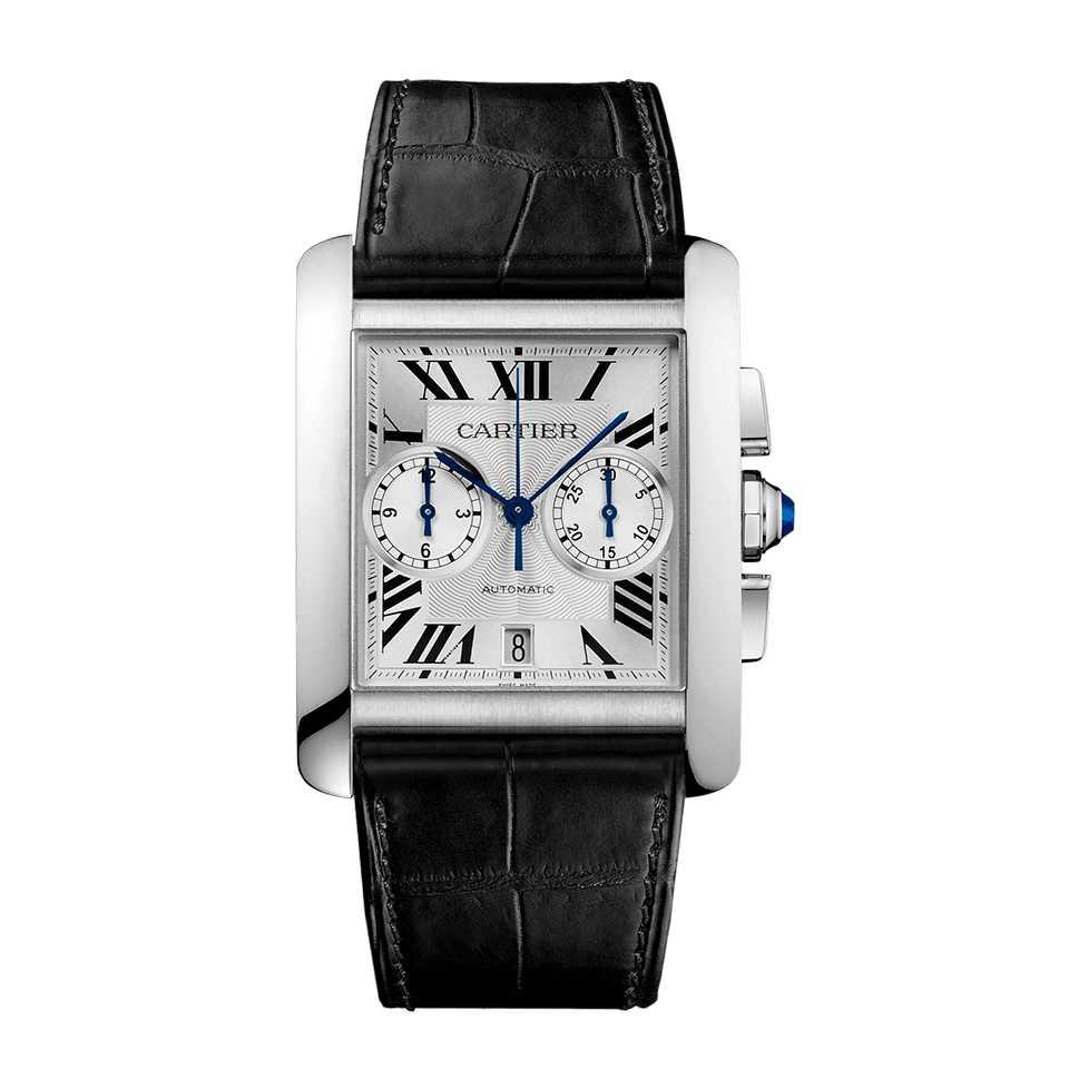 Cartier Tank MC Large Steel Watch