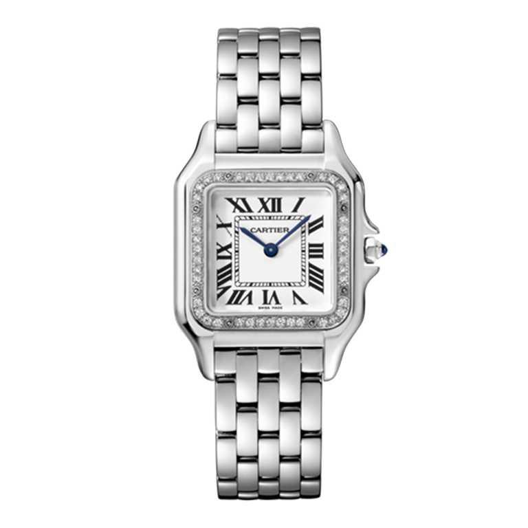 Cartier Panthere de Cartier Medium Steel Watch