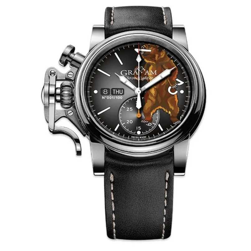 Graham Chronofighter Vintage Ltd Bear Limited Edition Watch