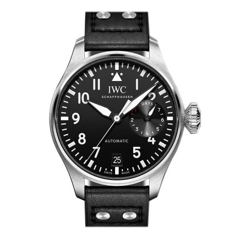 IWC Big Pilot's Black Dial Watch
