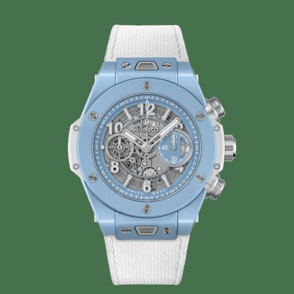 Hublot Big Bang Unico Sky Blue Chronograph Watch