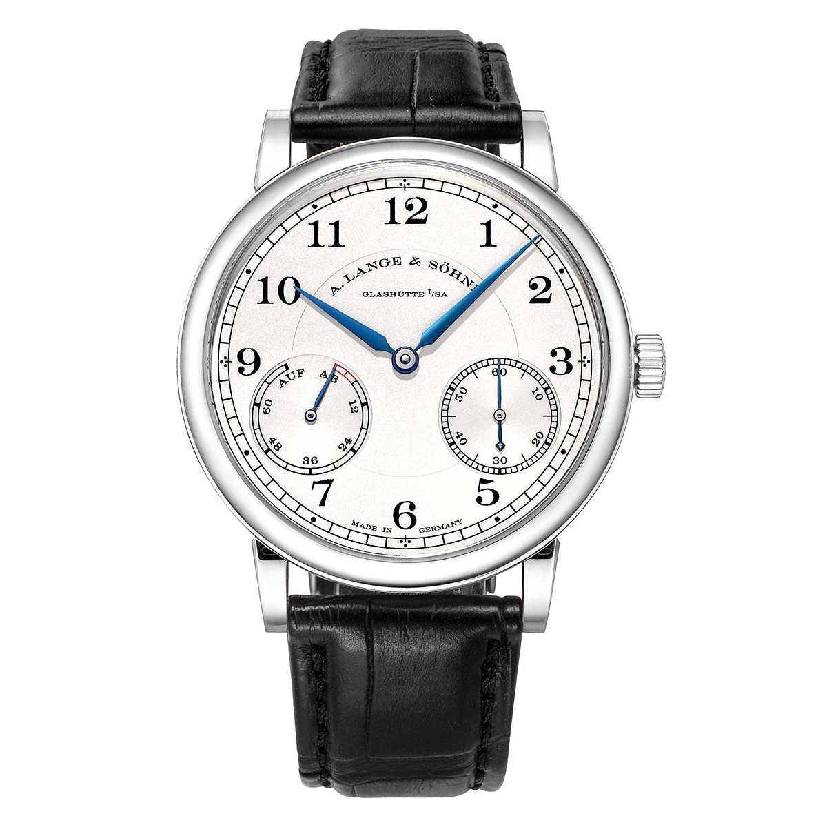 A. Lange & Söhne 1815 Up Down Silver Dial White Gold Watch