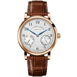 A. Lange & Söhne 1815 Up Down Silver Dial Rose Gold Watch