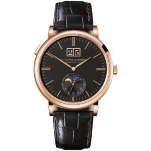 A. Lange & Söhne Saxonia Moon Phase Rose Gold Watch