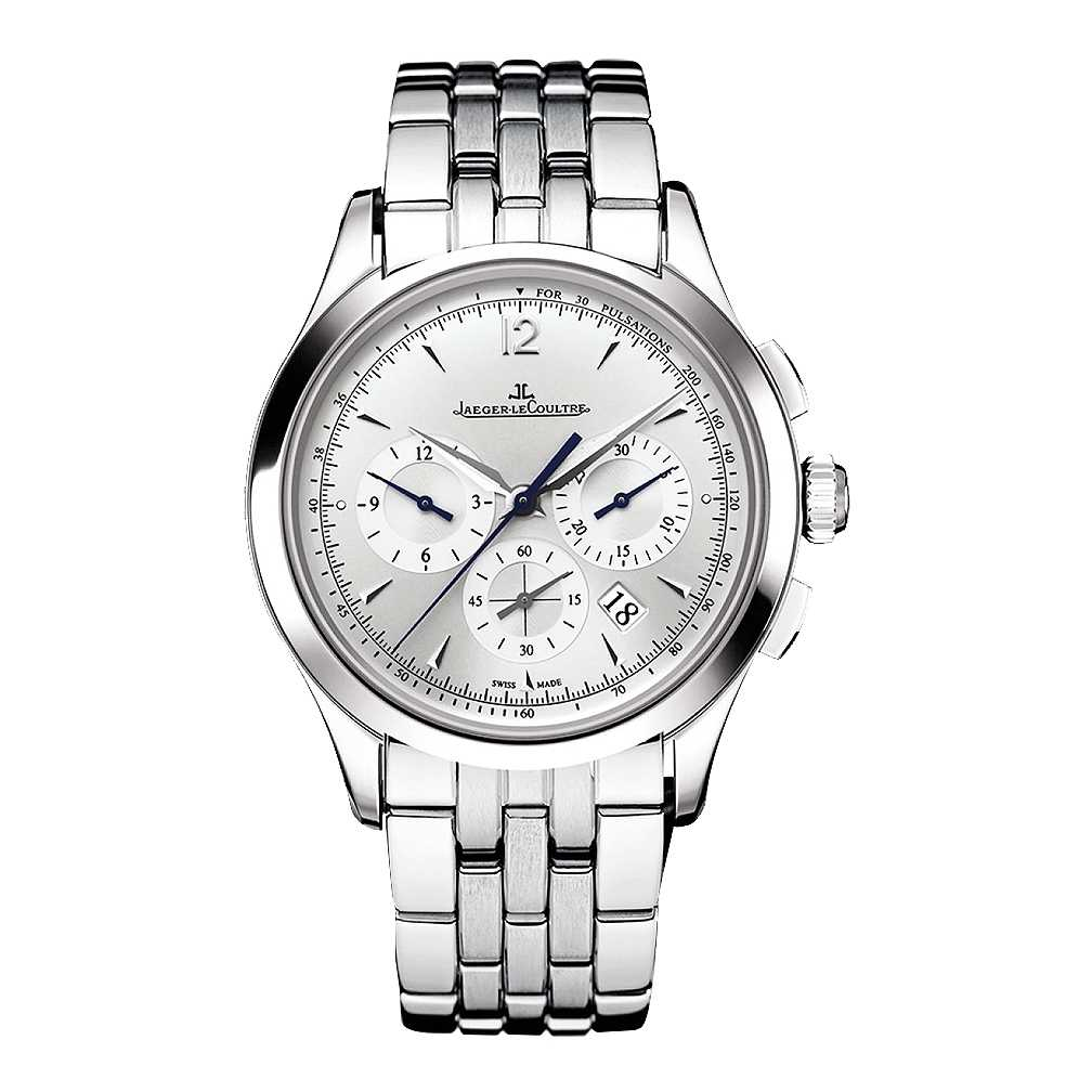 Jaeger-LeCoultre Master Chronograph Silver Dial Watch