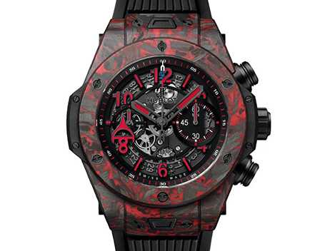 Hublot Ovechkin blog - Innovation and Ergonomics in Big Bang Unico 45 mm Red Carbon Alex Ovechkin