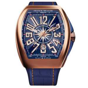 Franck Muller Vanguard Automatic Yachting Rose Gold Watch