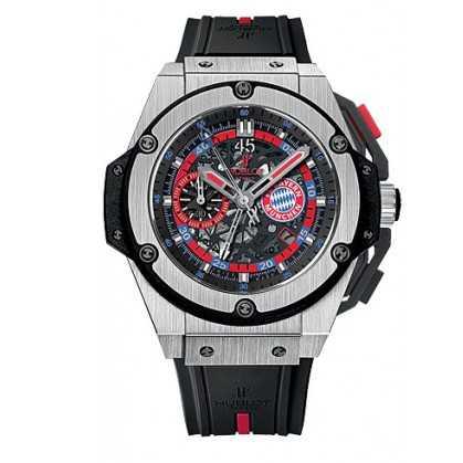 Hublot King Power Bayern Munich Chronograph Watch