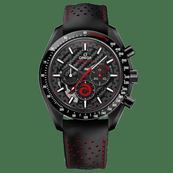 Omega Speedmaster Moonwatch Chronograph Dark Side of the Moon Alinghi Team Watch