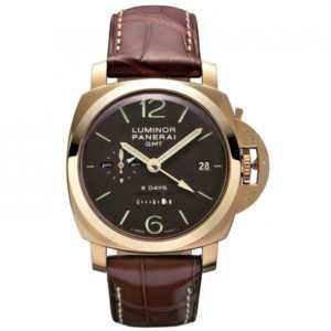 Panerai Luminor 1950 8 Days GMT Watch