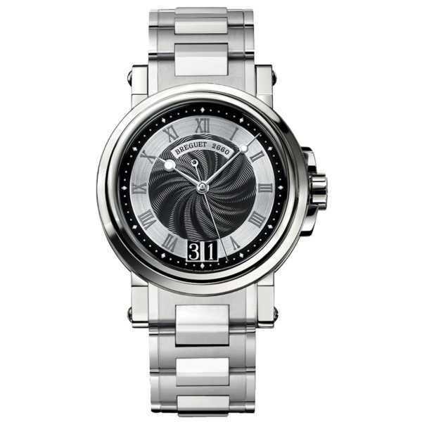 Breguet Marine Automatic Big Date 5817 Black Dial Watch