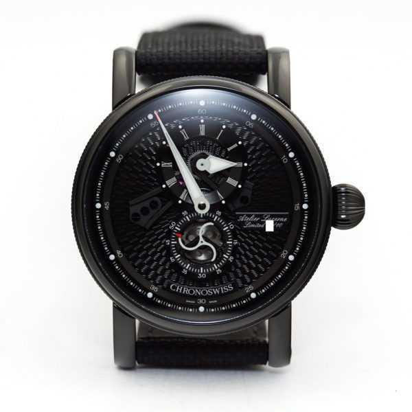 Chronoswiss Flying Regulator Black Edition Watch