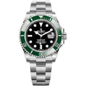 Rolex Oyster Perpetual Submariner Date Steel Green 41mm