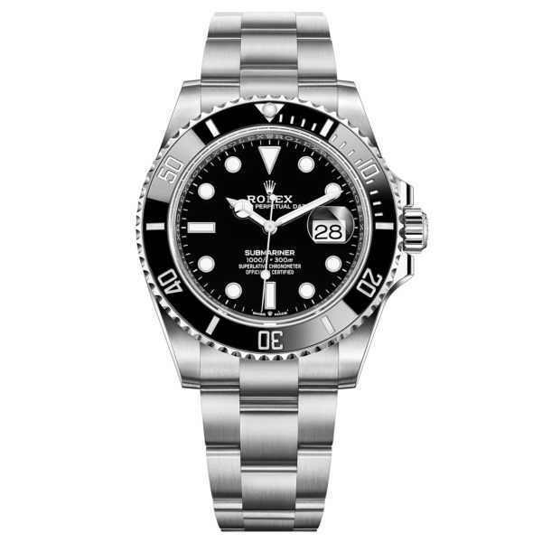 Rolex Oyster Perpetual Submariner Date Steel Black 41mm