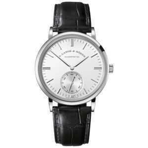 A. Lange & Söhne Saxonia Automatic Silver Dial White Gold