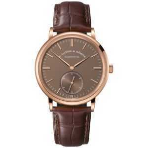 A. Lange & Söhne Saxonia Automatic Brown Dial Rose Gold