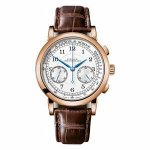 A. Lange & Söhne 1815 Chronograph Silver Dial Rose Gold