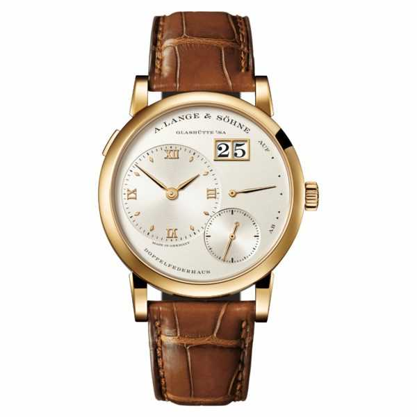 A. Lange & Söhne Lange 1 Champagne Dial Yellow Gold