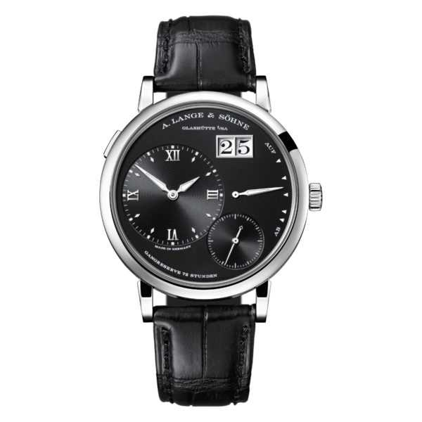 A. Lange & Söhne Grand Lange 1 Black Dial White Gold