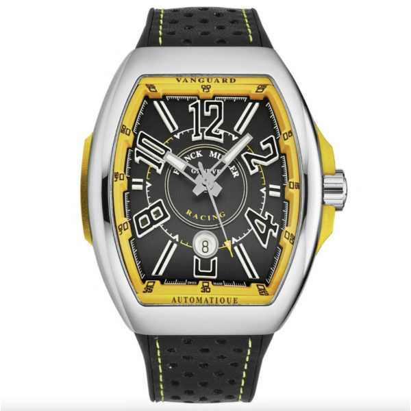 Franck Muller Automatic Vanguard Racing Yellow