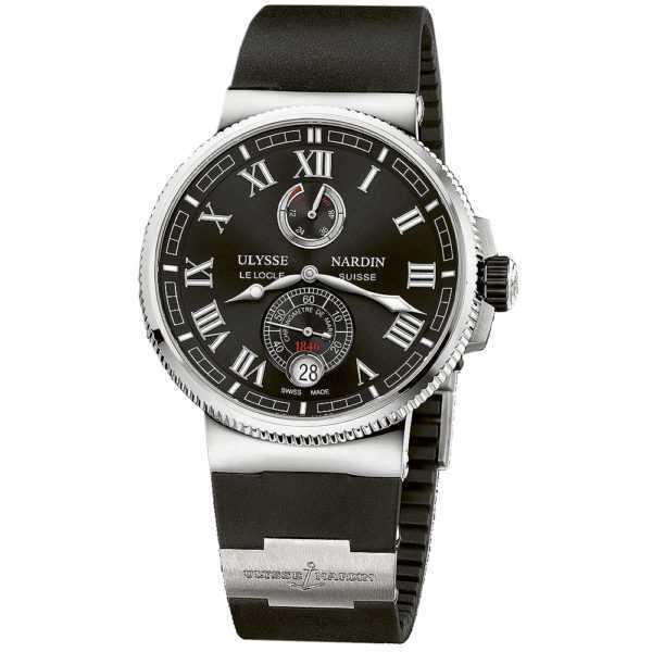 Ulysse Nardin Marine Chronometer 43mm Black Dial