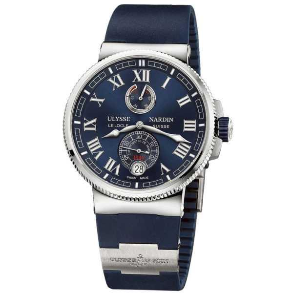 Ulysse Nardin Marine Chronometer 43mm Blue Dial