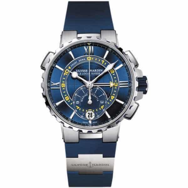 Ulysse Nardin Marine Regatta 44mm Blue Dial