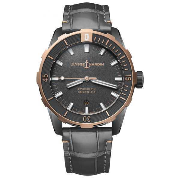 Ulysse Nardin Diver Black 42mm Grey Dial